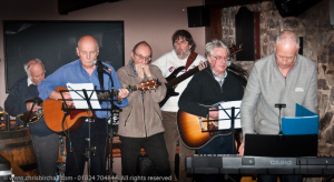 Tom, Dick and Harry - with added Raffael and John on Bass