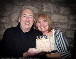 Birthday Boy Phil and Beryl Johnstone