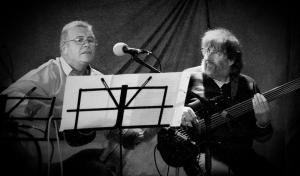 John Bass accompanying Stephen