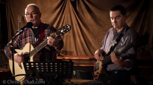 Rockin' Robin Wynne Jones with Mark Thatcher on bass