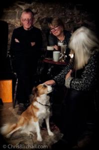 Chiri meets Bob, Glyn and Penni